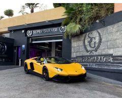 Lamborghini Aventador Roadster LP700 6.5 V12 *Edición Limitada*