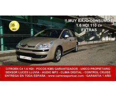 Citroen C4 1.6HDI Collection 110 CV POCOS KMS EXTRAS